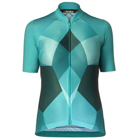 Mavic Sequence Pro Maillot manches courtes Femme, tropical green